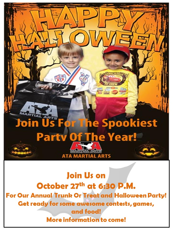 Trunk or Treat - Halloween Party @ Karate for Kids | Pottstown | Pennsylvania | United States